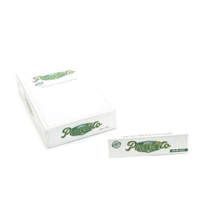 Seda Papelito Slim Mini Size - Caixa com 25