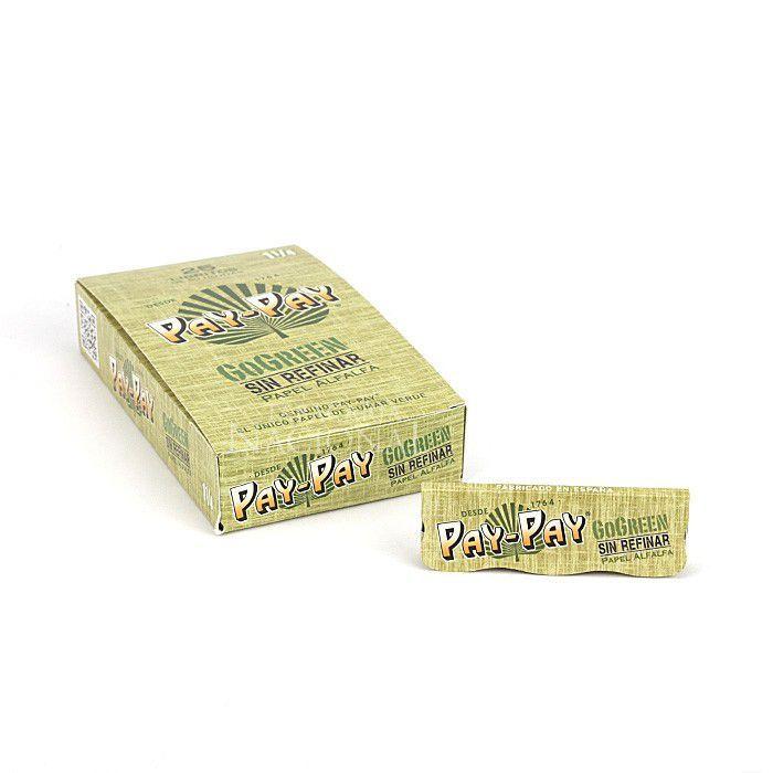 Seda Pay-Pay Go Green (Alfafa) 1 1/4 - Caixa com 25