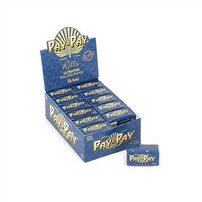 Seda Pay-Pay Rolls Blue - Caixa com 24