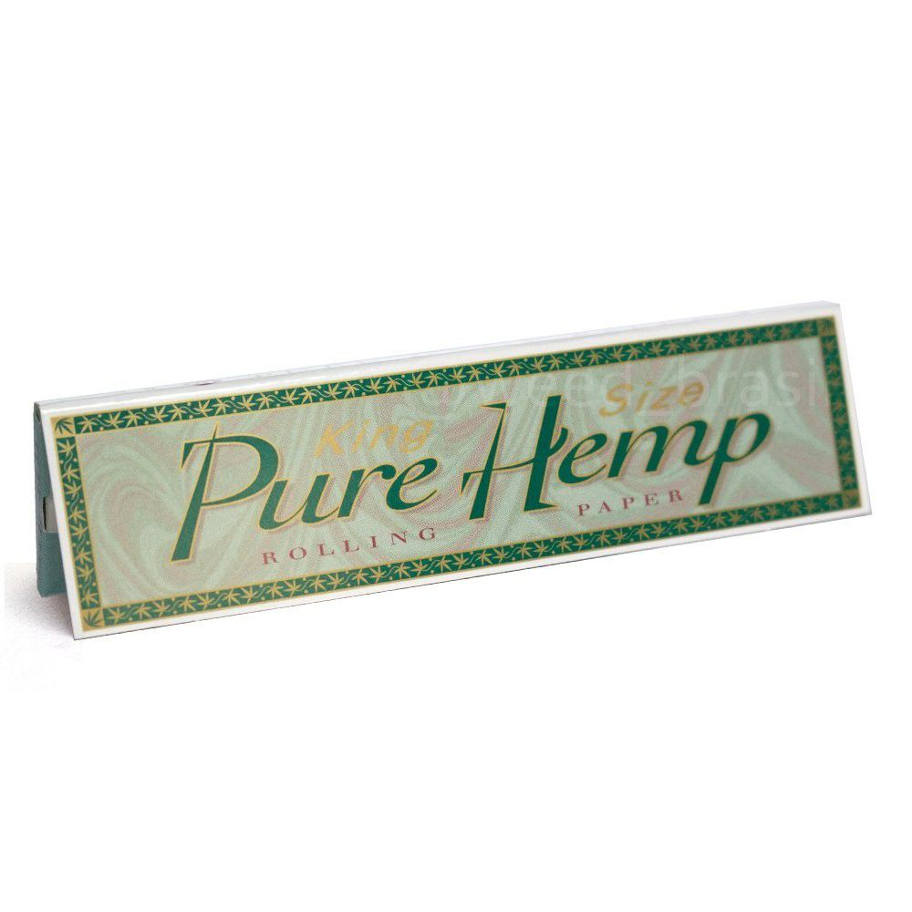 Seda Pure Hemp King Size - Caixa com 50