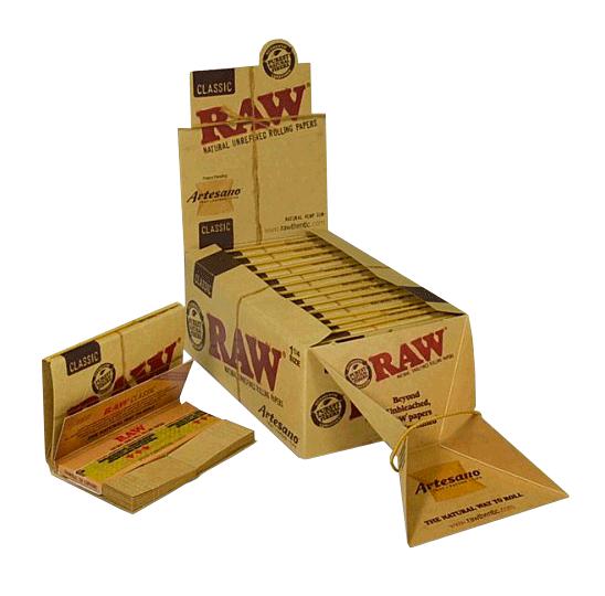 SEDA RAW CLASSIC ARTESANO 1-1/4 + TIPS (Un.)