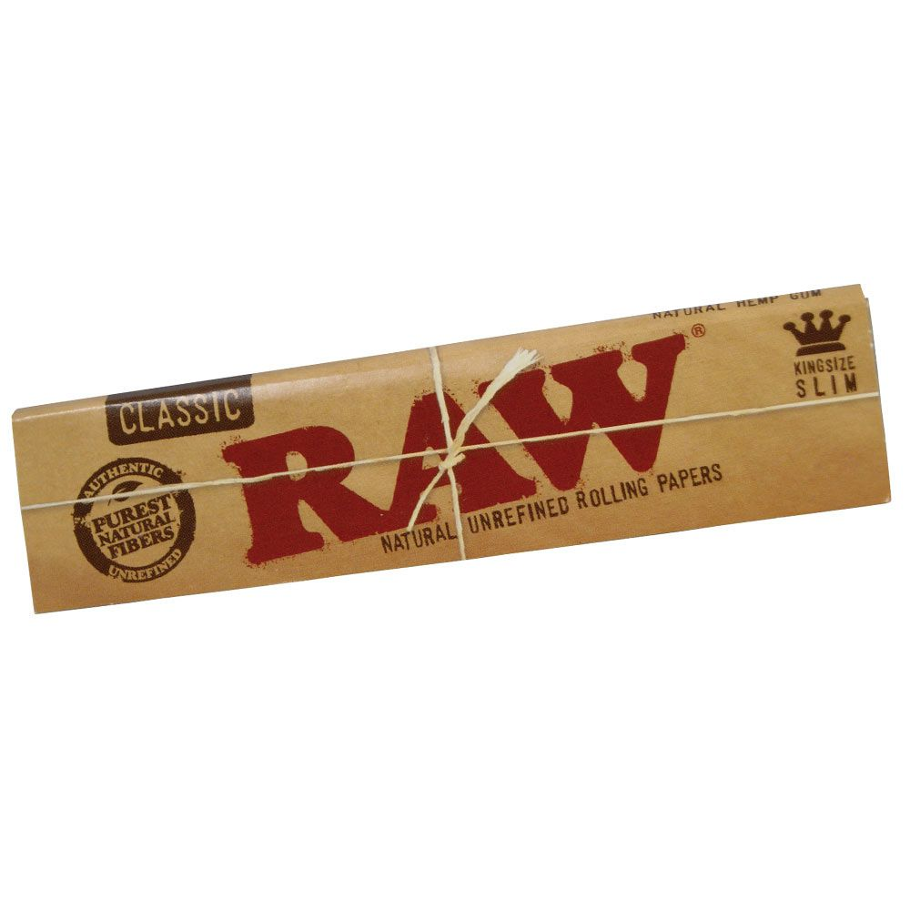 Seda Raw Classic King Size Slim - Caixa com 50