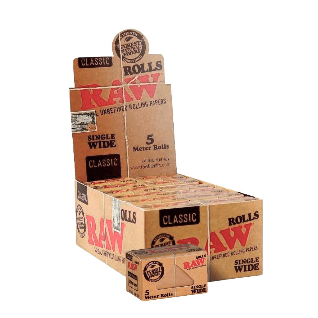SEDA RAW CLASSIC ROLLS SINGLE WIDE 5M (Un.)