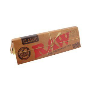 Seda Raw Classic Single Wide de 70mm - Caixa com 50