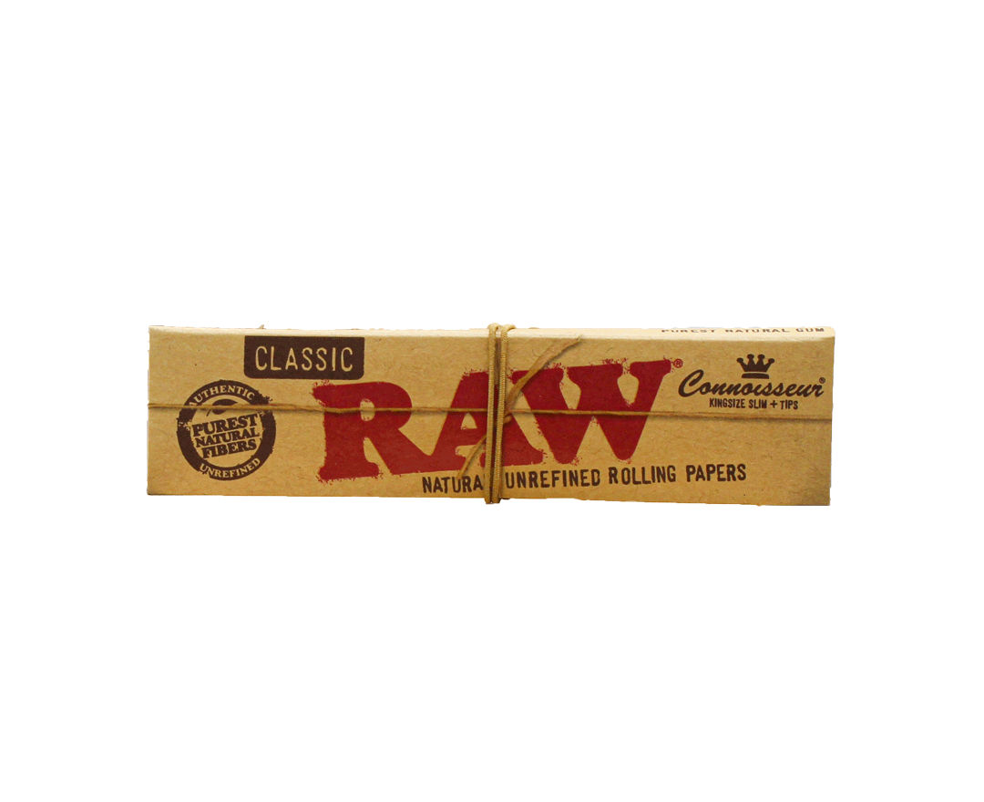 SEDA RAW CONNOISSEUR KING SIZE SLIM + TIPS Cx