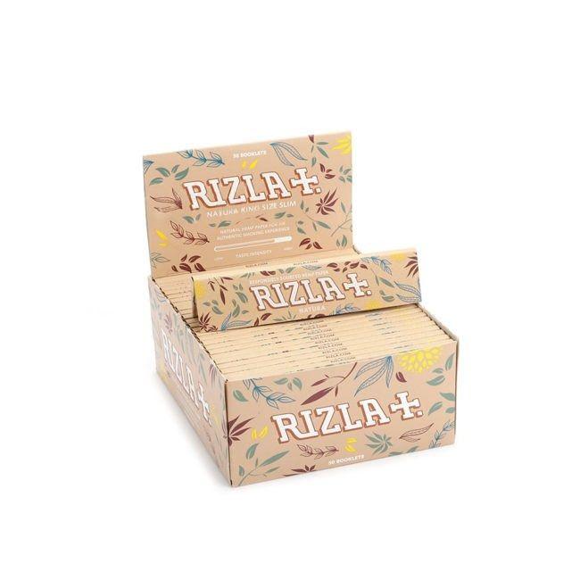 Seda Rizla Natura King Size Slim - Caixa com 50