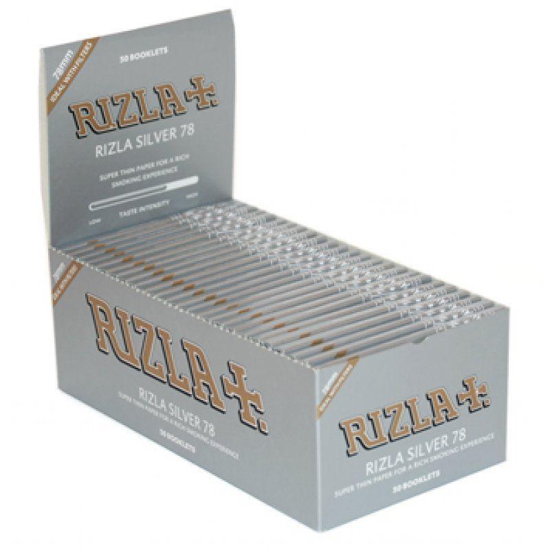 Seda Rizla Silver 1 - 1/4 - Caixa com 50