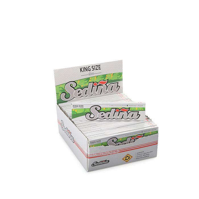 Seda Sediña Slim King Size - Caixa com 50