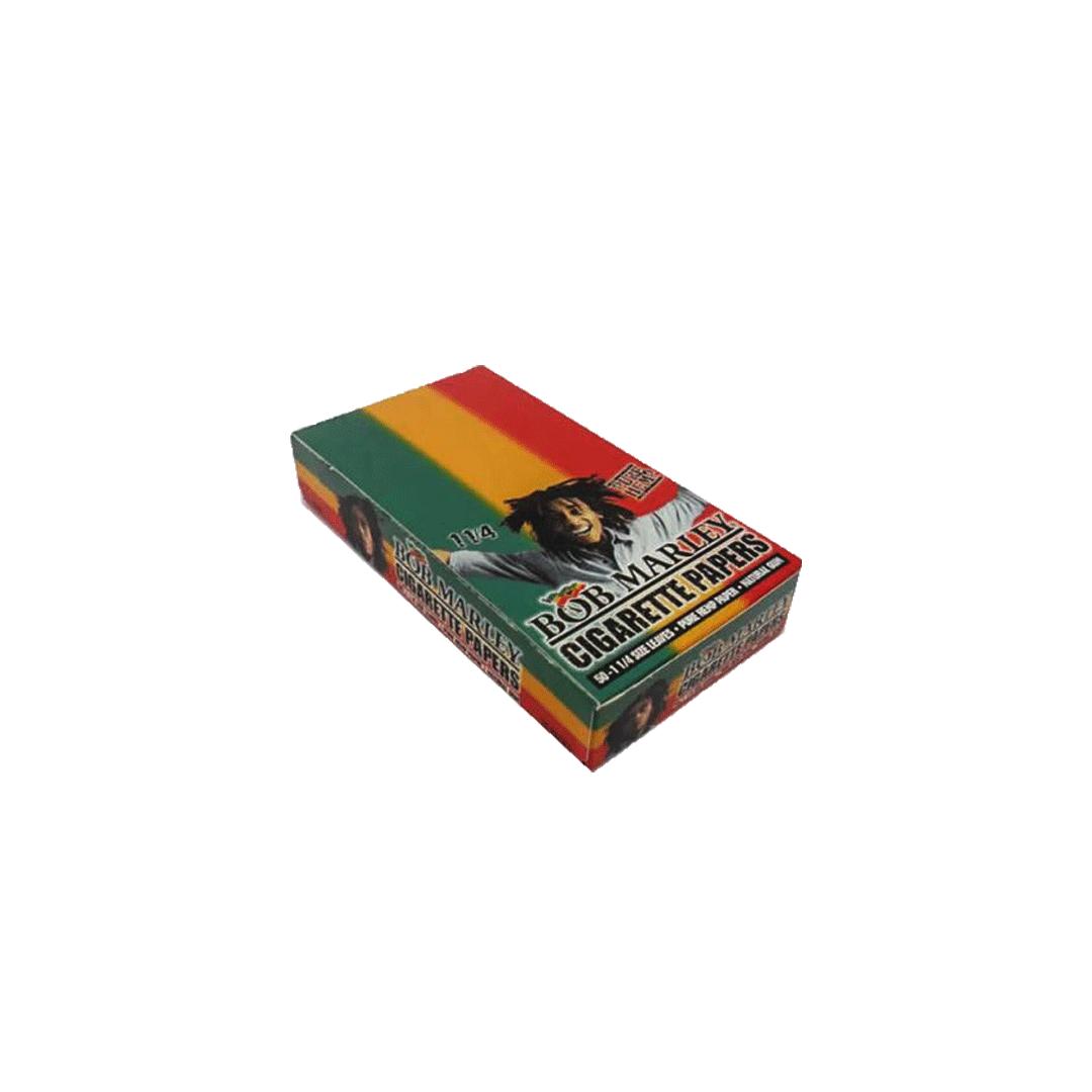 Seda Smoking Bob Marley 1 - 1/4 Caixa com 25
