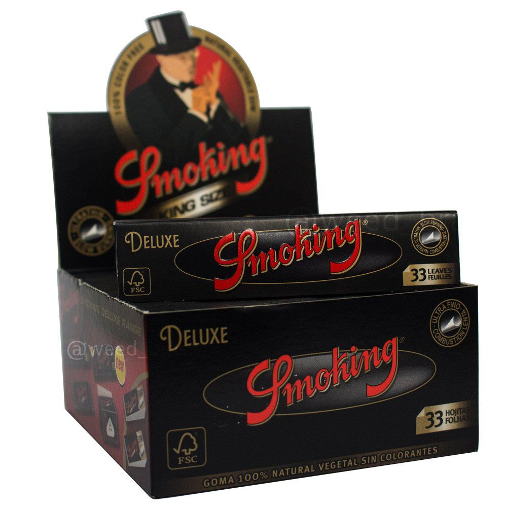 Seda Smoking Deluxe King Size - Caixa com 50