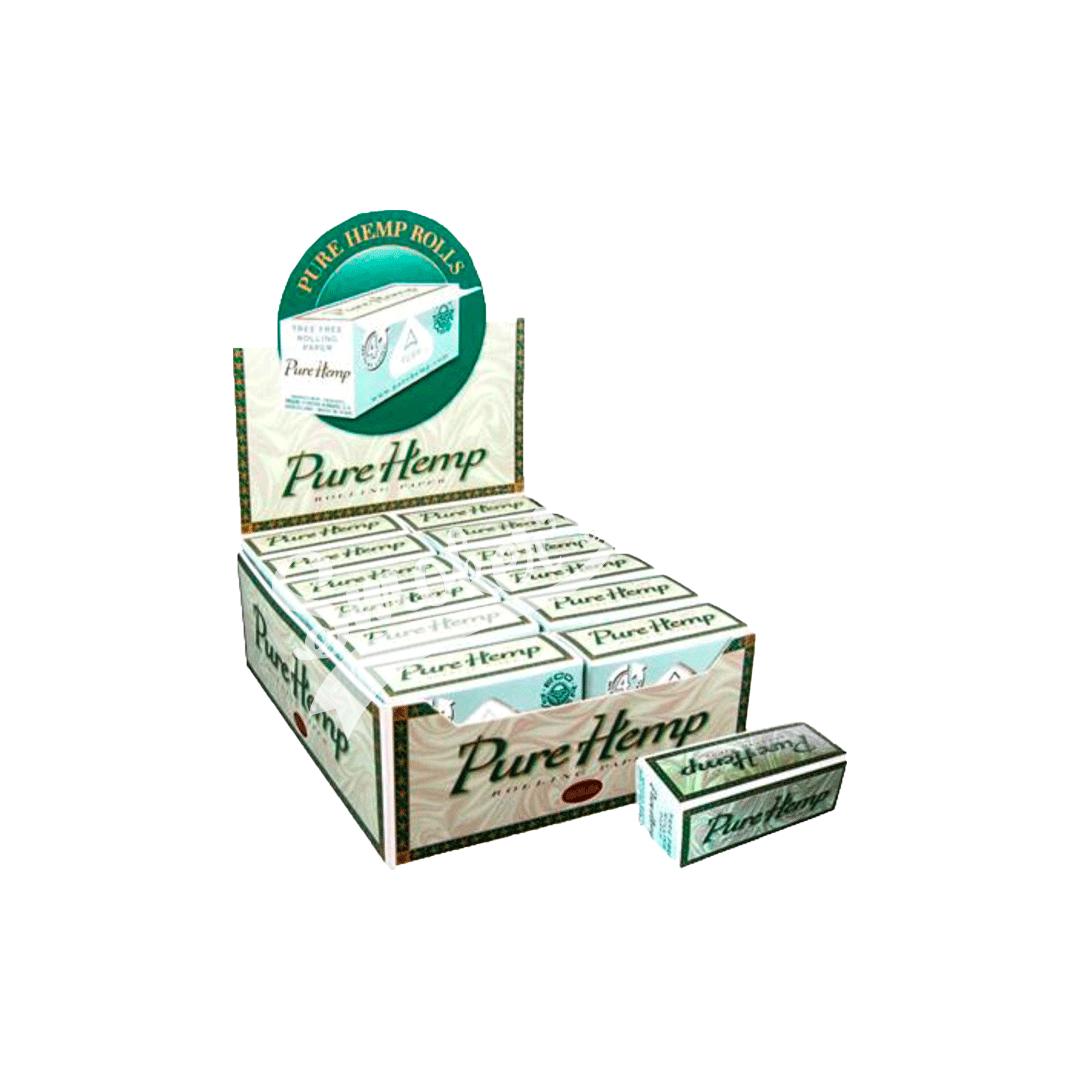 Seda Smoking Pure Hemp Rolls 4M - Caixa com 24