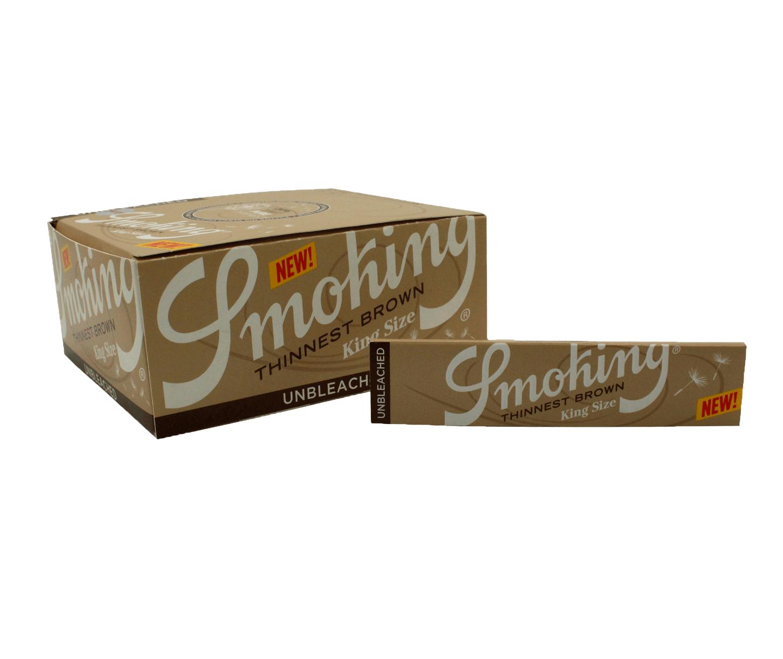 SEDA SMOKING THINNEST BROWN KING SIZE (Cx.)
