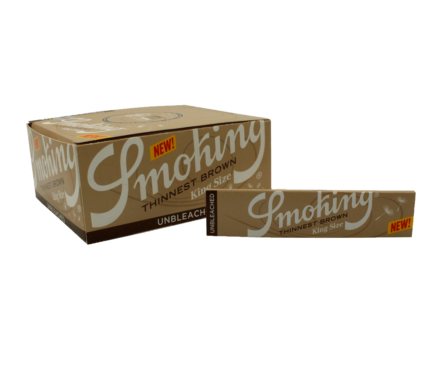 SEDA SMOKING THINNEST BROWN KING SIZE (Un.)