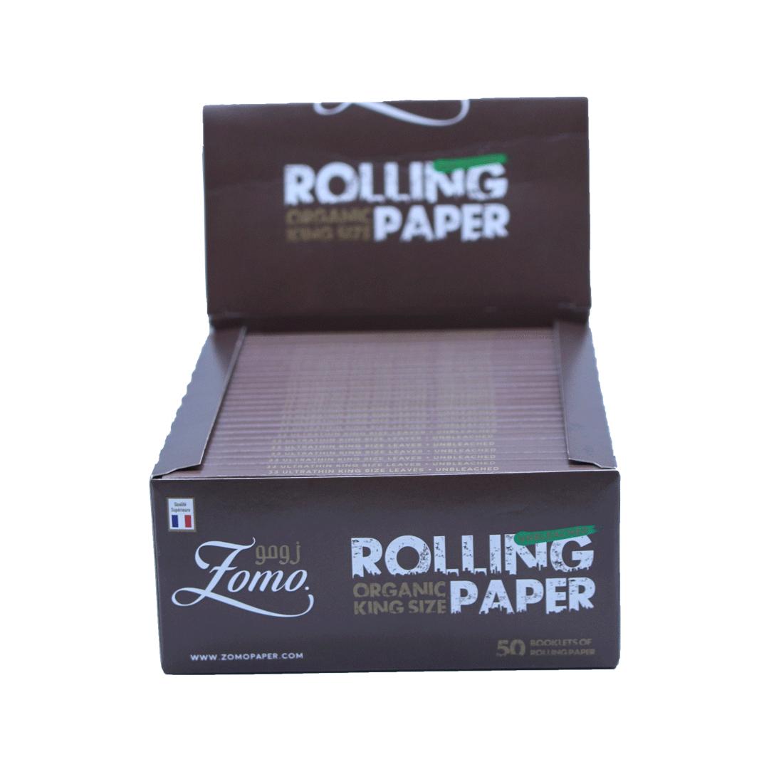 Seda Zomo Rolling Organic King Size - Cx com 50