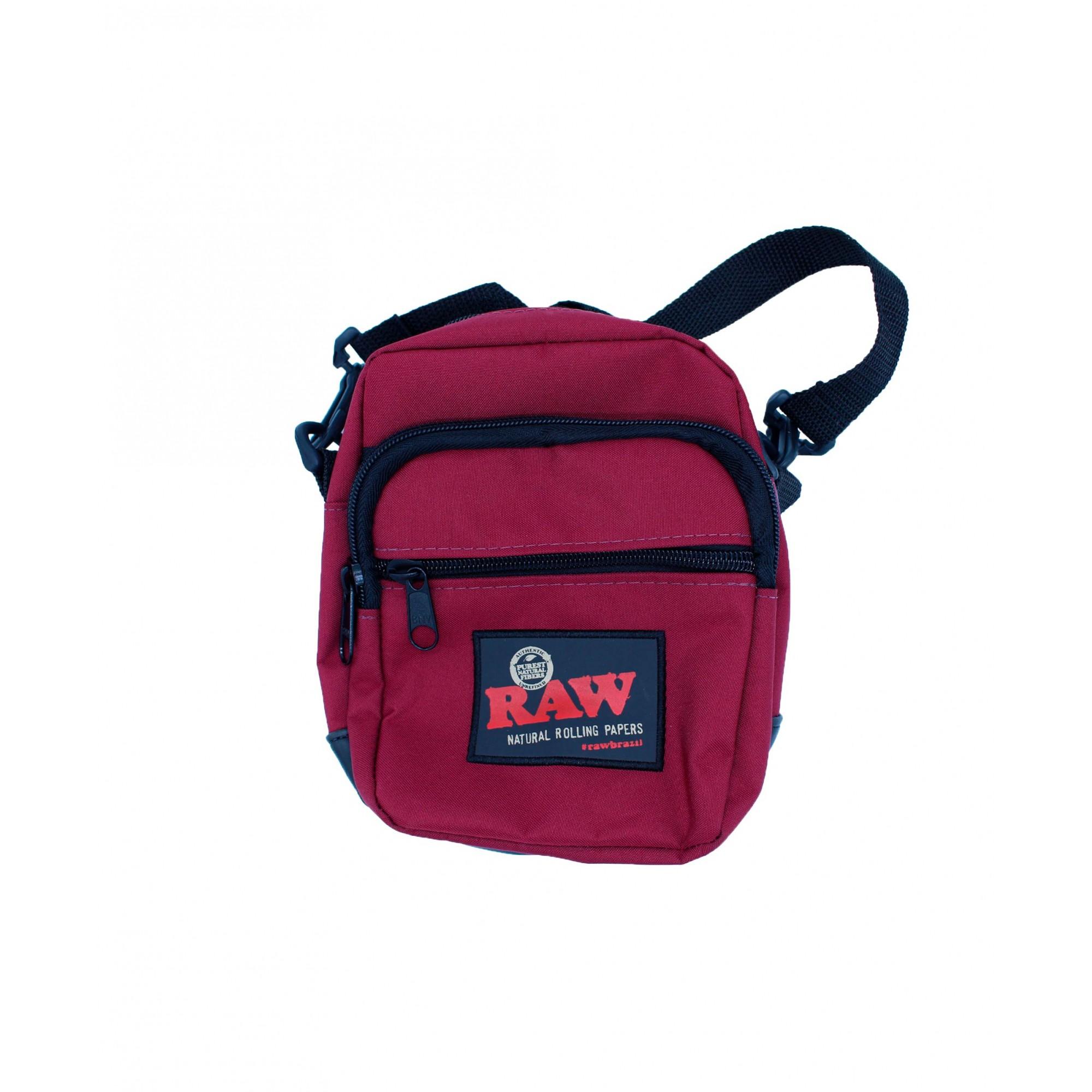 Shoulder Bag Raw Bordo