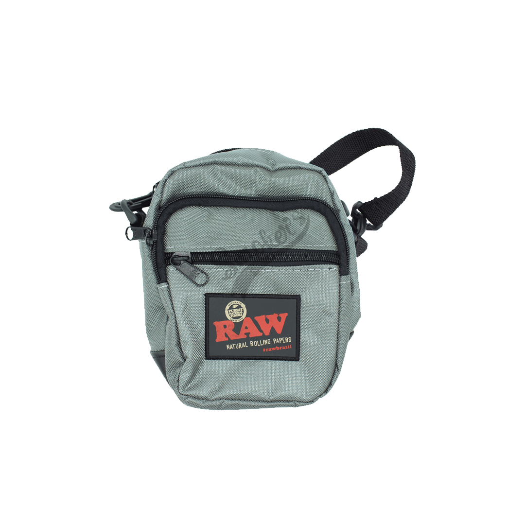 Shoulder Bag Raw  Cinza