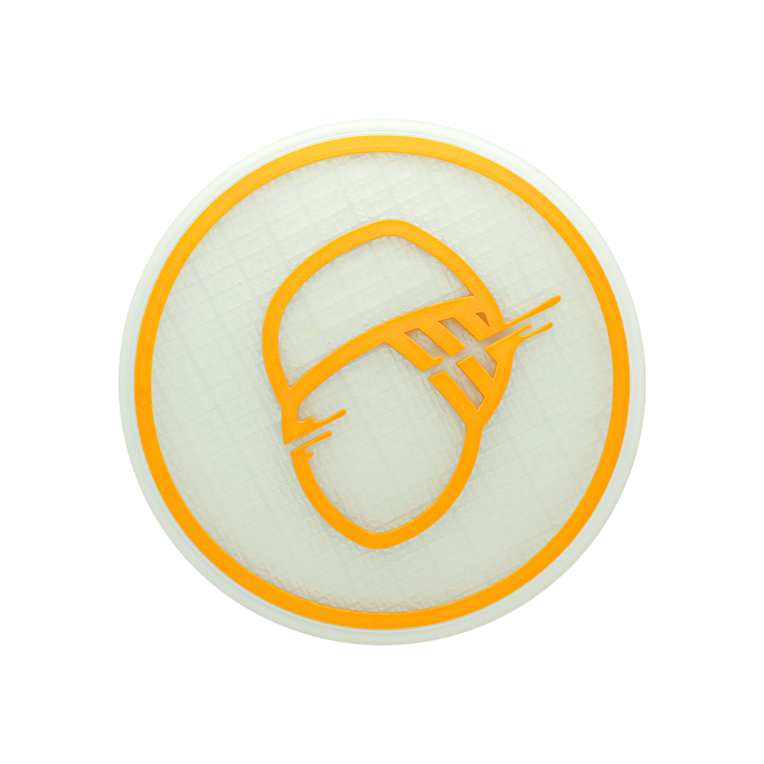 TAPETE SILICONE STICK SULTAN CLEAR/GOLD