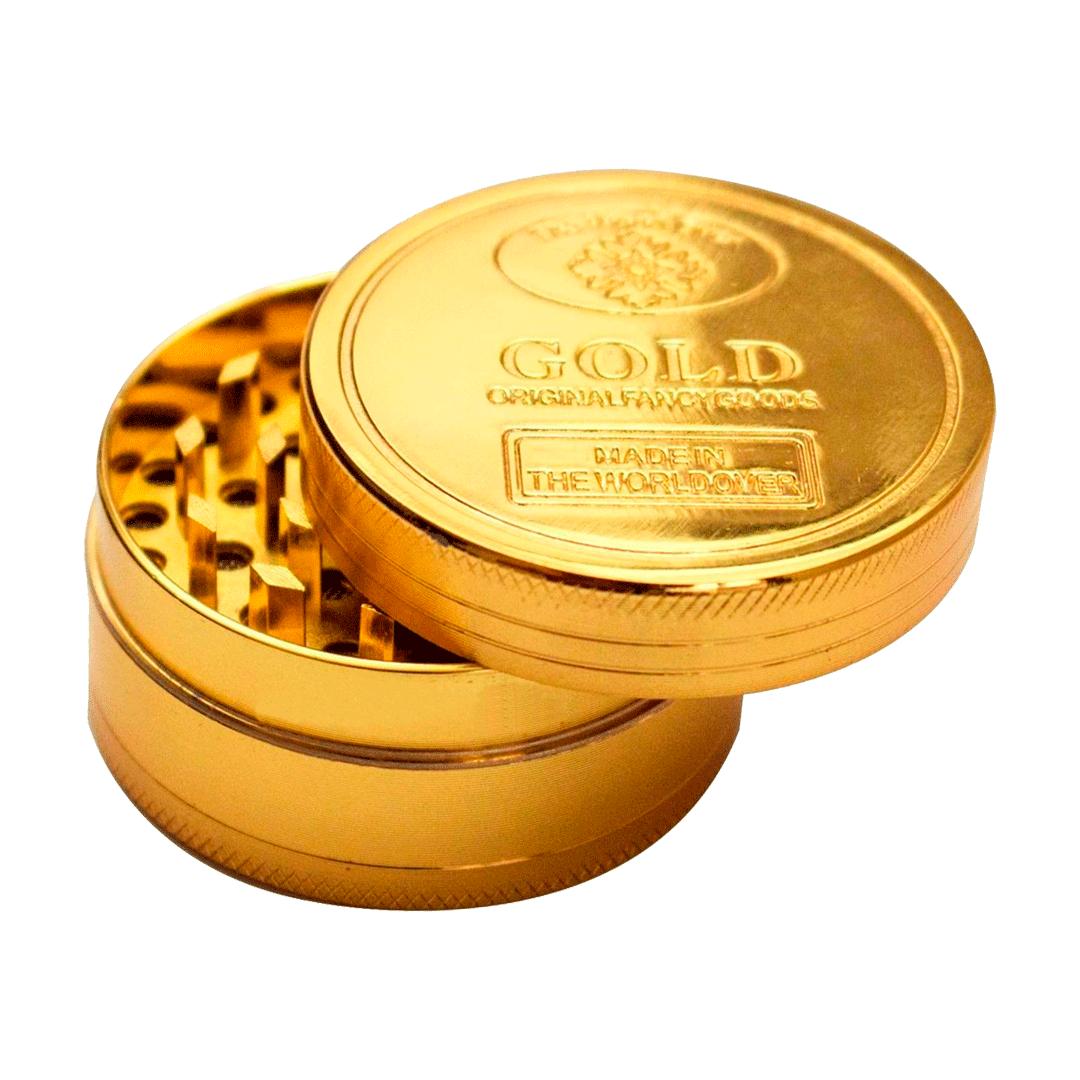 TRITURADOR METAL GOLD MEDIO 3 PARTES