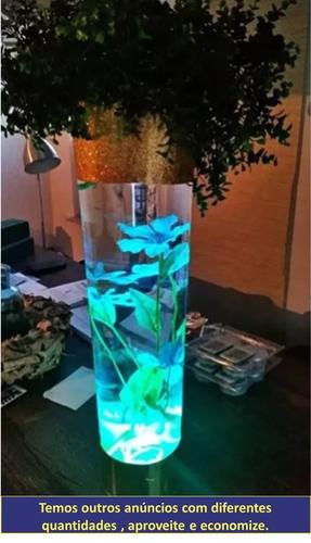 Base Luminosa Luz Led Drink Festa A Prova D'água Submergível