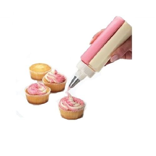 Bisnaga Dupla Caneta Decoradora Confeiteiro Cupcake Yangli