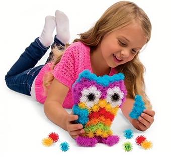 Bunchems Brinquedo De Bolinhas Criativas Para Montar 400 Peças