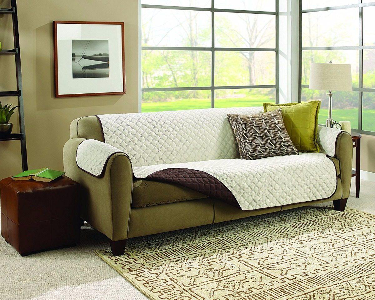 Capa Para Sofá Couch Coat Lavável Na Máquina Protege