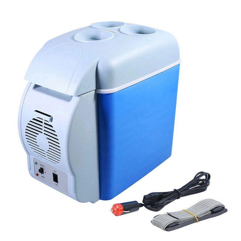 Cooler Veicular Esfria e Aquece Mini Geladeira 7,5L