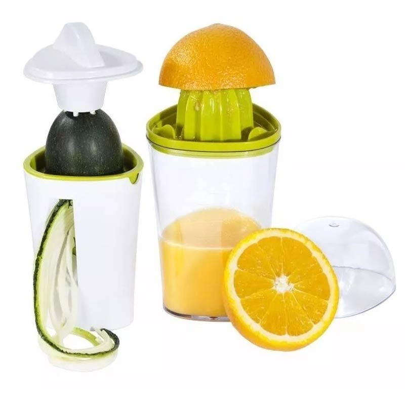 Cortador E Fatiador De Legumes + Extrator De Suco