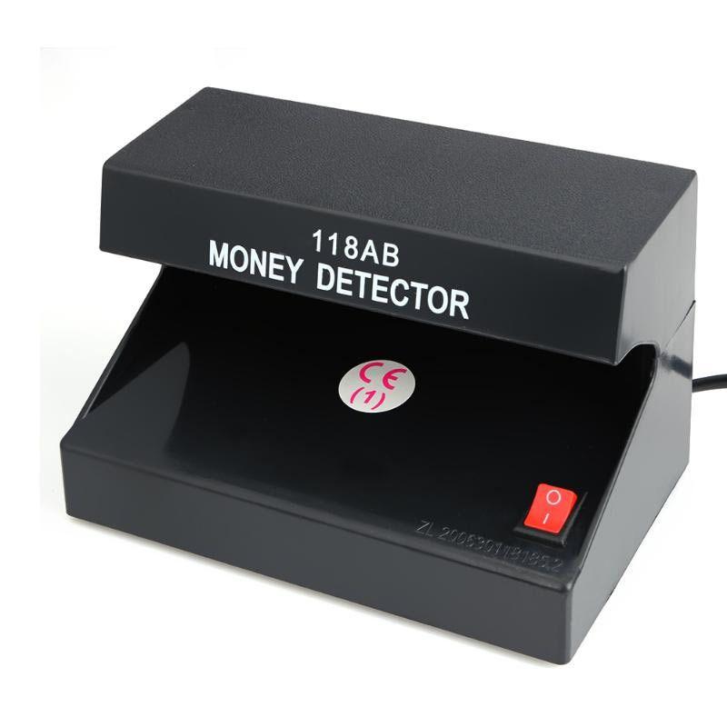 Detector Testador De Dinheiro Nota Falsa Cheque Rg Selos Passaporte