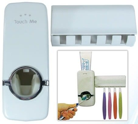Dispenser Automático para pasta de dentes - Touch Me