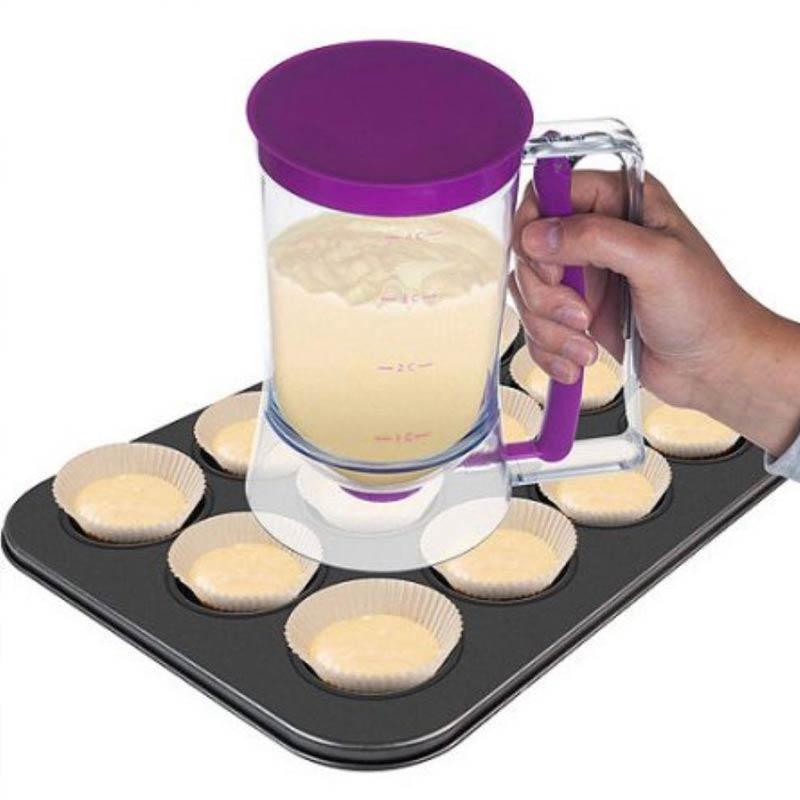Dispenser E Medidor Massa Bolo Cupcake Cozinha Profissional