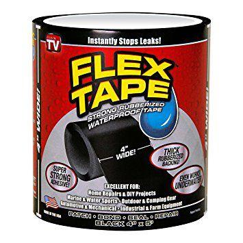Fita Flex Tape Pequena Reparos Tampa E Veda Resistente À Água