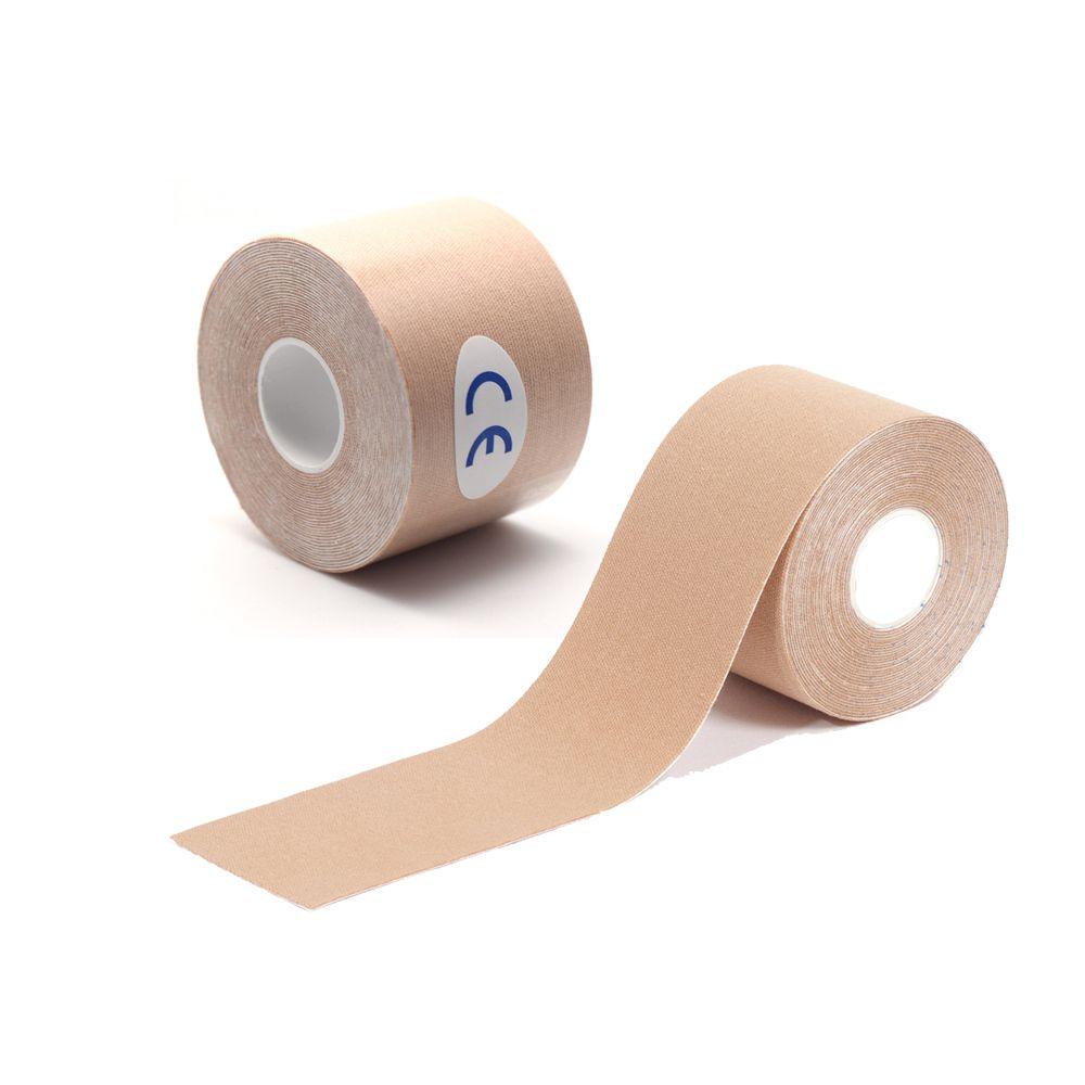 Fita Bandagem Adesiva Kinesio Esportes Fisioterapia Dores Muscular 5m