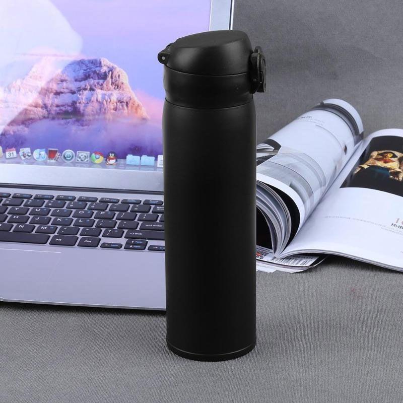 Garrafa Térmica 500 Ml Flasks Inox Portátil Viagem Água Suco Café