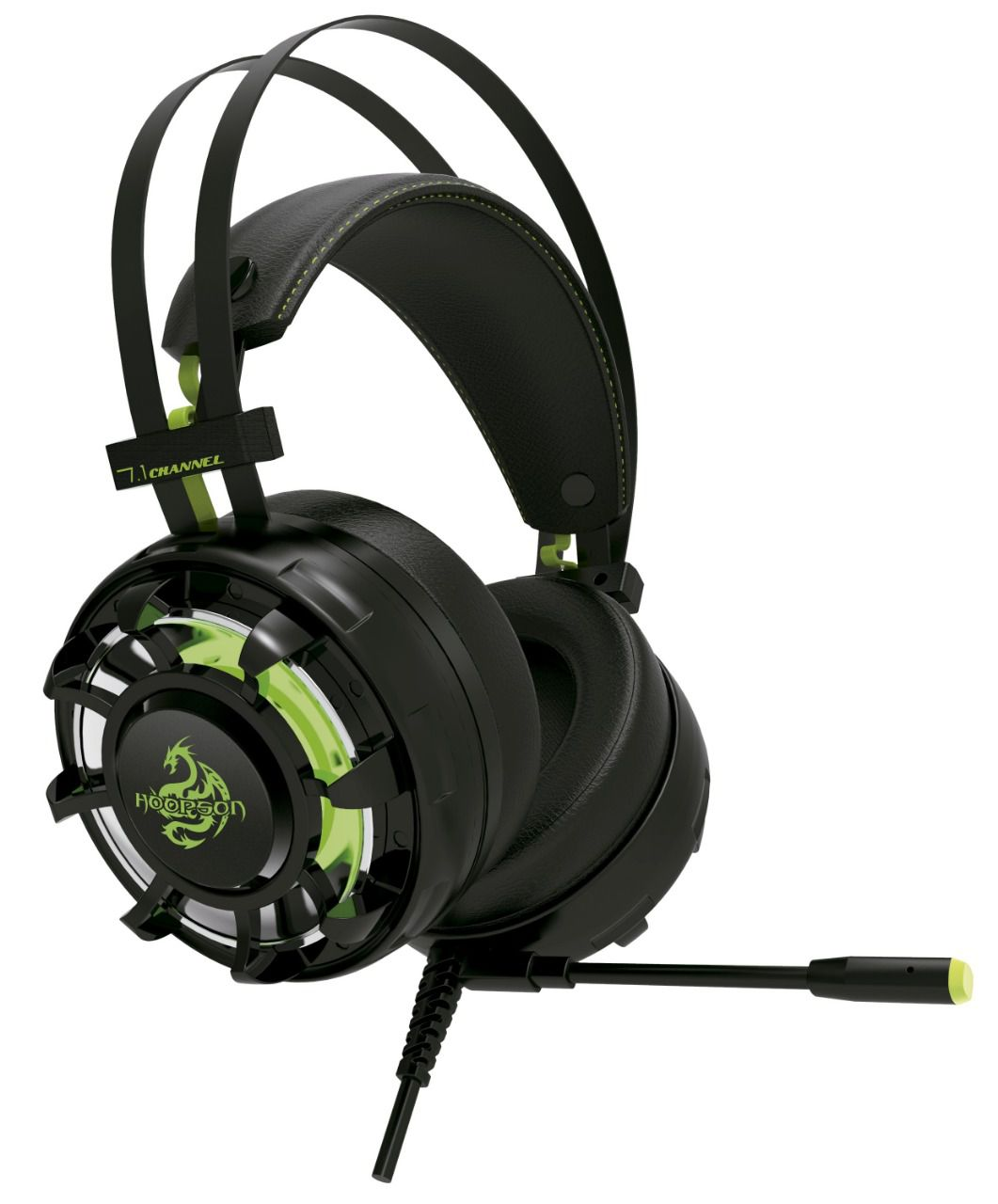Headset Gamer Hoopson Champion 7.1 Cinema Sound Potente Led