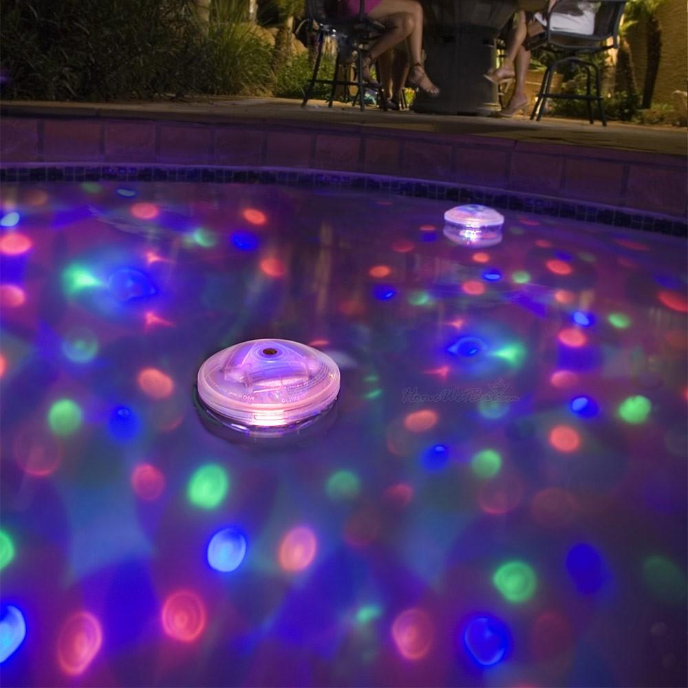 Iluminação de Piscina RBG Festa e decorações - Water Light Show