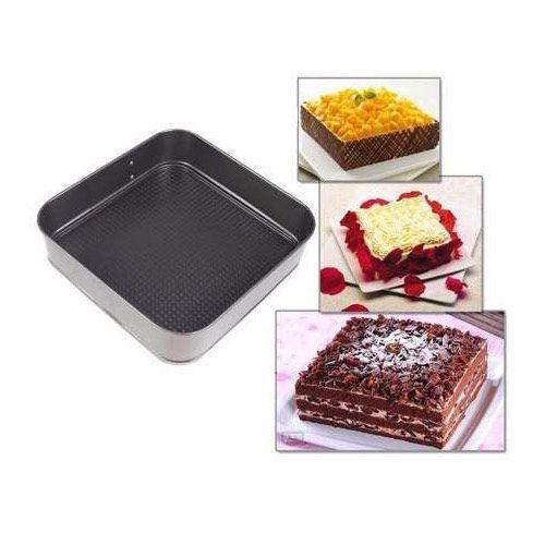 Kit 3 forma assadeira black para bolo e torta fundo removível redonda retangular e coração