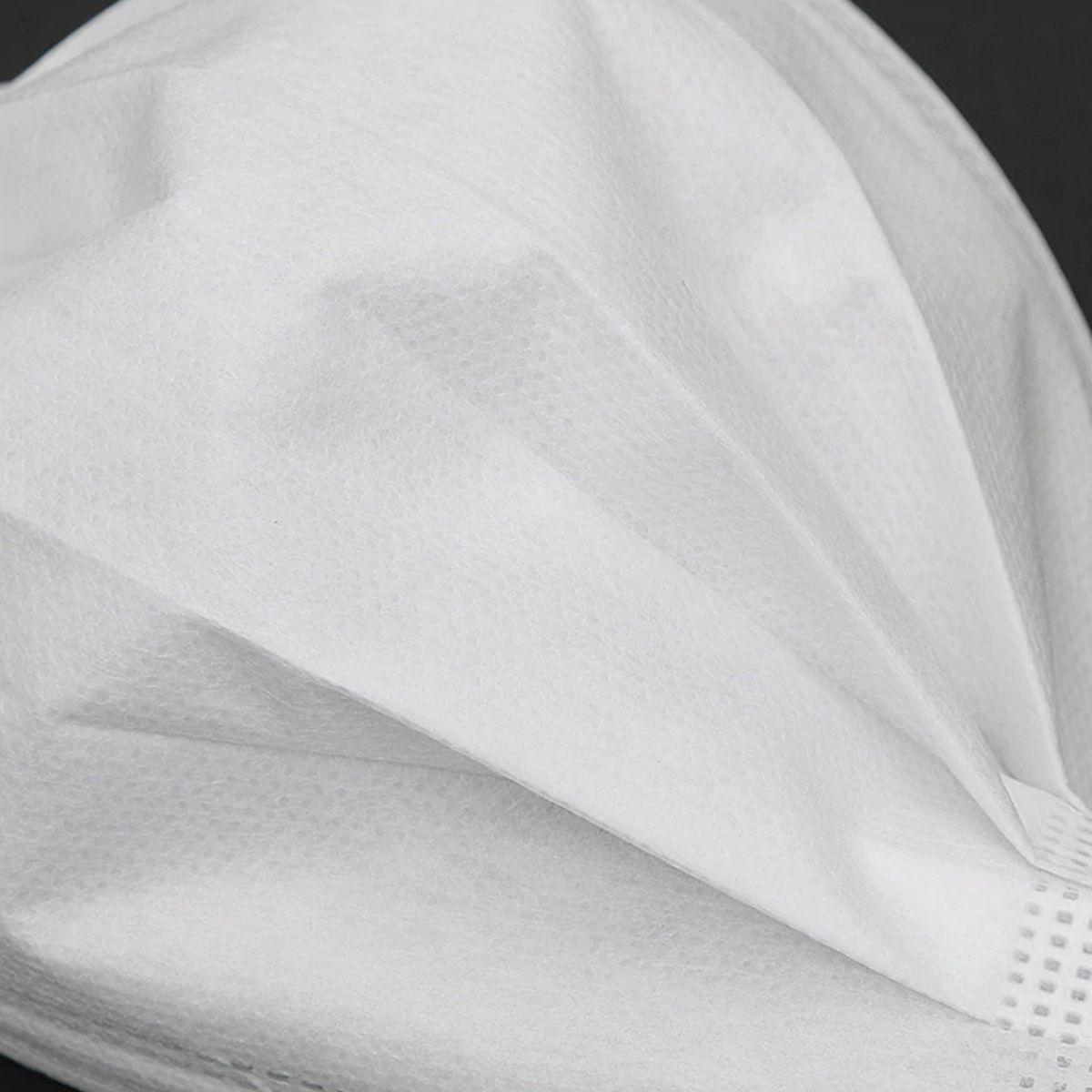 Kit 5 Máscaras Com Elástico de Proteção Facial Lavável