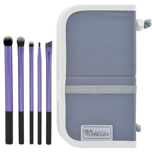 Kit de 5 Pincéis para Sombra Maquiagem - Pincel Real Techniques