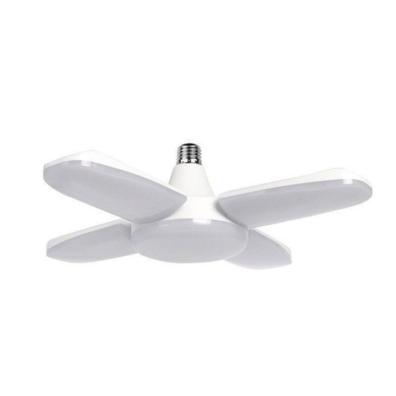 Lâmpada Led Dobrável Ajustável 60W Fan Blade Economia A Alta Iluminação