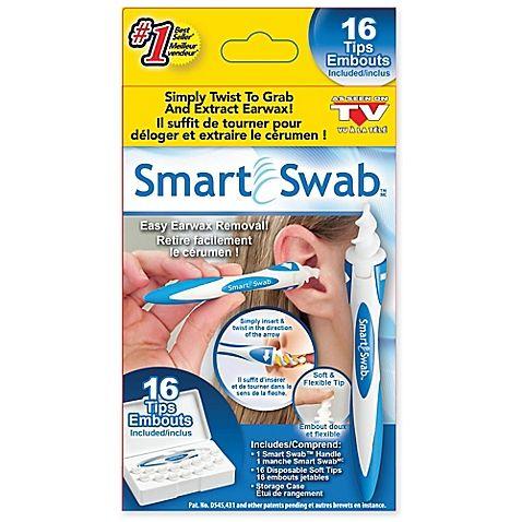 Limpador De Cera De Ouvidos Smart Swab