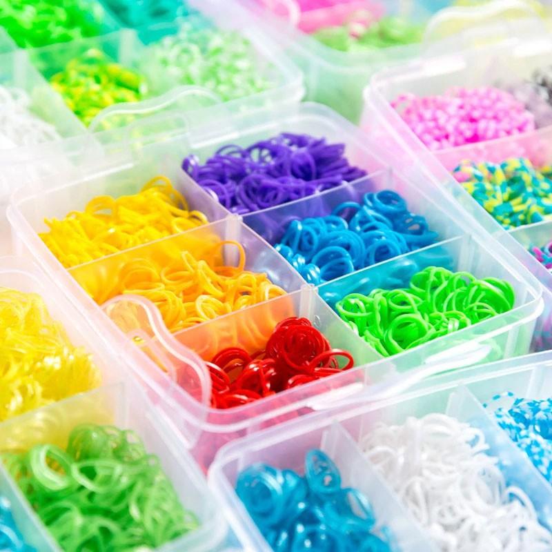 Maleta Caixa Organizadora 3000 Elástico Pulseira Dia Das Crianças