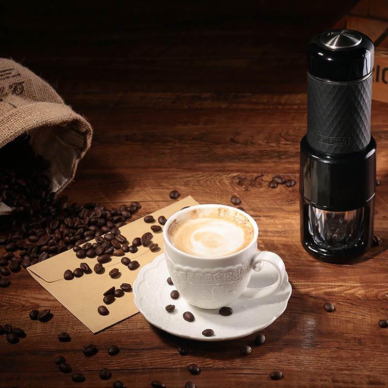 Máquina Cafeteira Portátil Espresso Expresso Café Capuccino