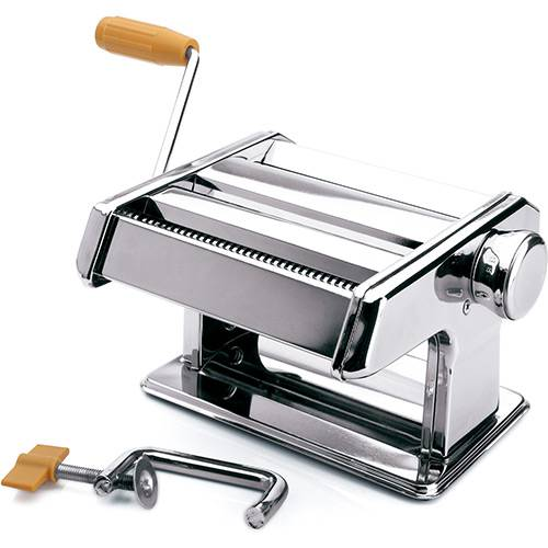 Máquina de Macarrão Manual Aço Inox