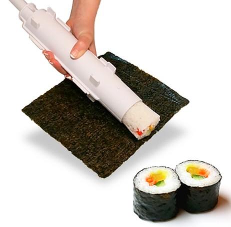 Máquina Fazer Sushi Rolo Bazooka Sushezi
