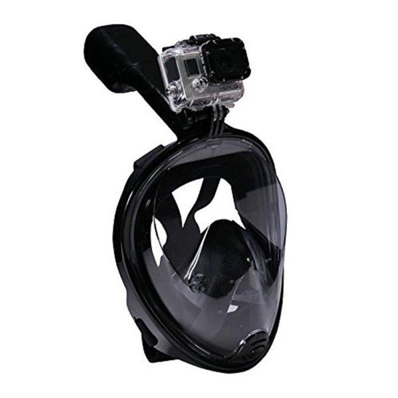 Máscara Snorkel Full Face Anti Embaçamento 180 Graus