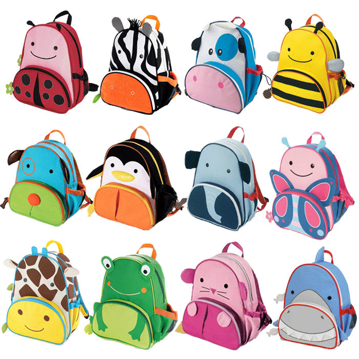 Mochila Infantil Zoo - Orange Idea