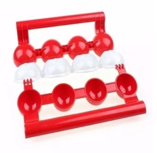 Modelador Almondega Recheador Bolinho Stuffed Ball Maker