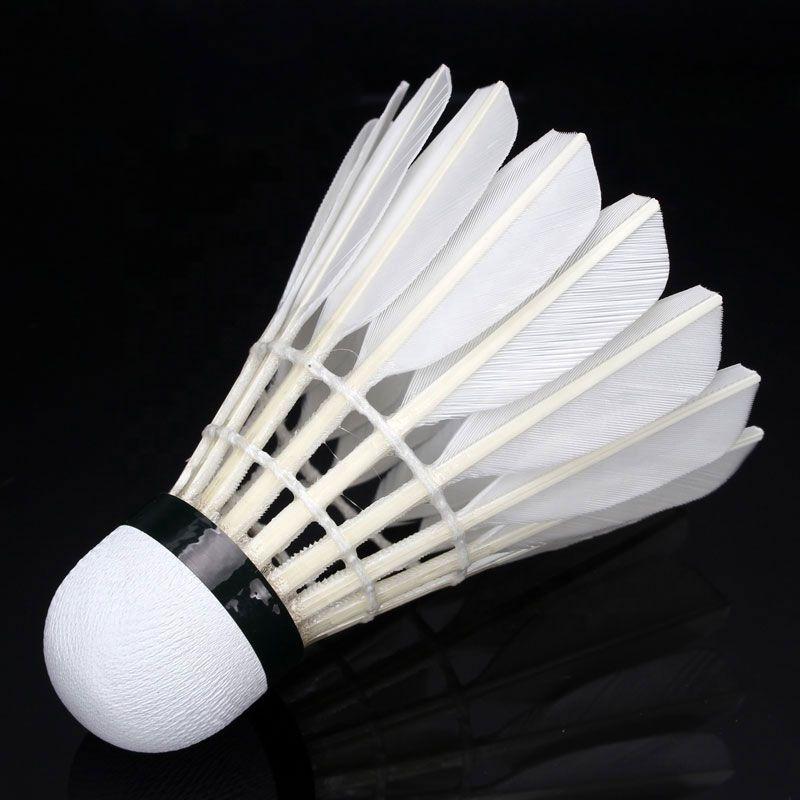 Peteca De Badminton Tubo Com 12 Unidades