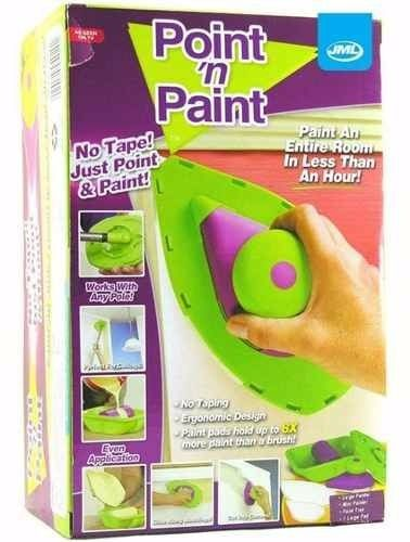 Point And Pad Pincel para cantos - Ferramenta de Pintura